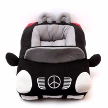 Cool car-themed Detachable Cotton Padded dog bed / house