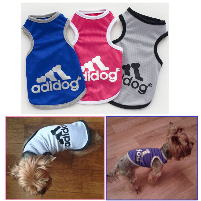 Pet Dog Clothes Apparel Pet T Shirt Clothing Summer Breathable Cozy