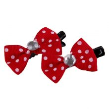 10pcs Multicolor Dog Hair Bows / Clips