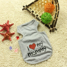 "Soft Summer ""I Love My Mommy and Daddy"" Yorkie t-shirt"