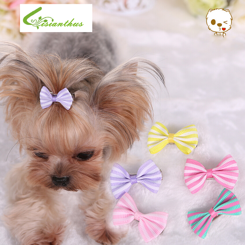 3 Pieces Of Cute Grooming Yorkie Hair Bows
