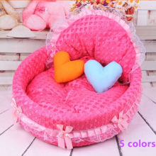 Lovely, charming dog princess bed / 5 colors